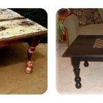 реставрация столика в гостиную