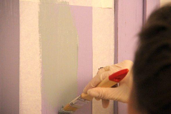 покраска шкафа