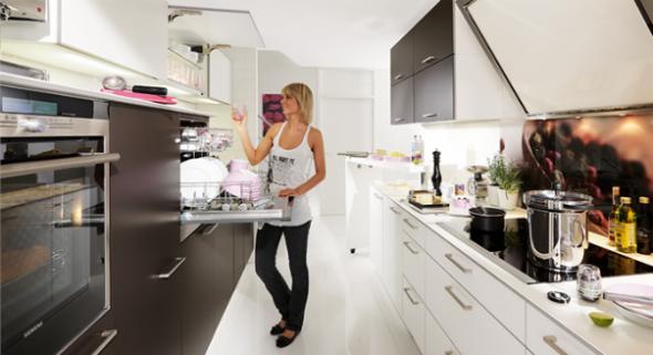 сделать кухню удобной