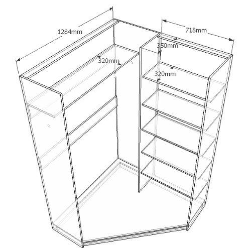 шема углового шкафа