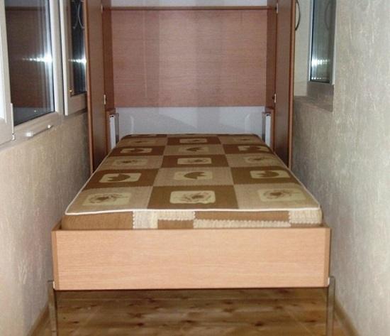 шкаф кровать на лоджии