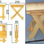 складной стул для балкона