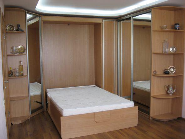 кровать трансформер вертикальная