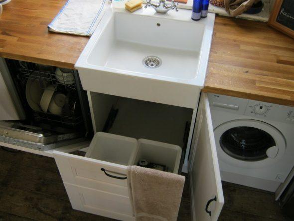 возможна фиксация посудомоечной машины в нише