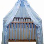 Балдахин для детской кроватки - вуаль