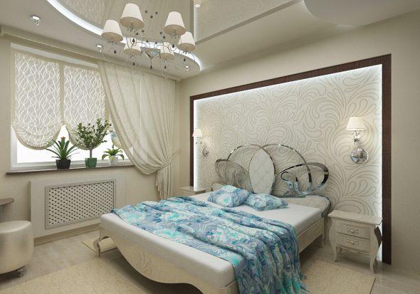 бра в спальне