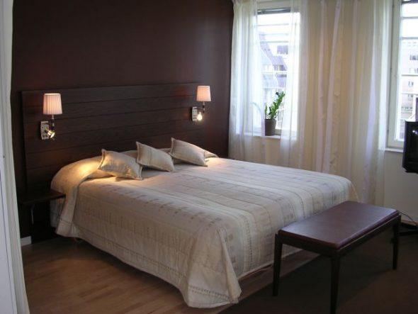 бра в спальне дизайн