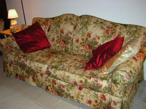 Чехол для дивана своими руками