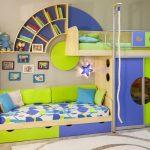 Детская комната для двух фото