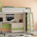 Детская кровать-чердак изображения