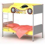 Детская кровать чердак в спортивном стиле