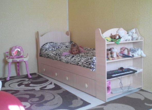 Детские кровати для девочек своими руками