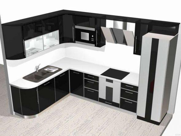 Дизайн фото кухонных гарнитуров