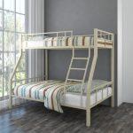 Двухъярусная кровать металлическая фото