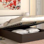 двуспальная кровать подъемная с механизмом
