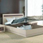 двуспальная кровать подъемная в интерьере