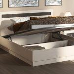 двуспальная кровать подъемный механизм