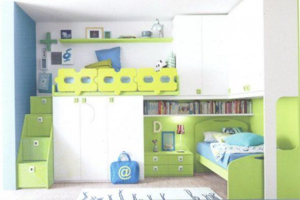 Комнаты для двоих детей это комплекты мебели