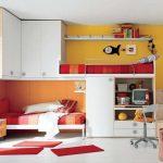 Компактная мебель с кроватью чердаком