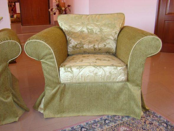 красивая накидка на кресло