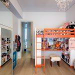 кровать чердак с рабочей зоной детская