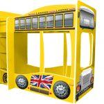 Кровать машина автобус Лондон