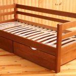 Кровать-тахта натуральное дерево