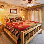 кровати двуспальные деревянные идеи