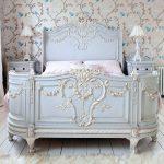 кровати двуспальные деревянные прованс