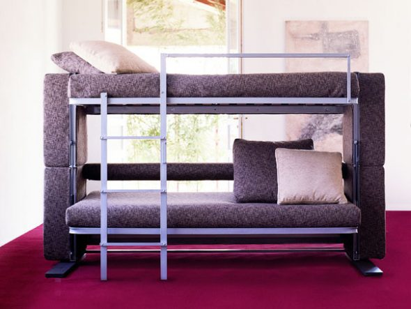 Плюсы и минусы использования двухъярусной кровати для взрослых