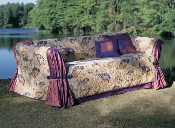 Покрывала-чехол на диваны