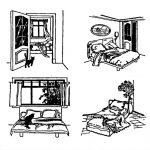 Правильное расположение кровати фото
