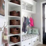 прихожая для узкого коридора дизайн мебели