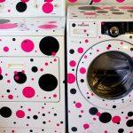 самоклеющаяся пленка на стиральной машине