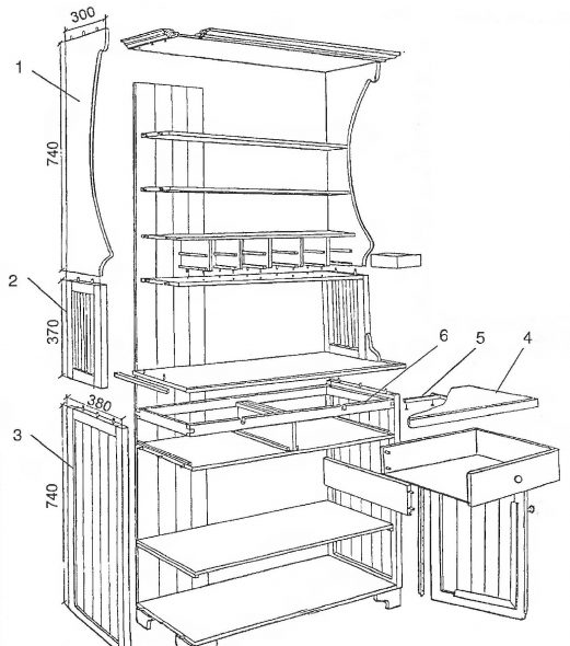 Схема буфета