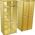 Шкафы для одежды деревянные