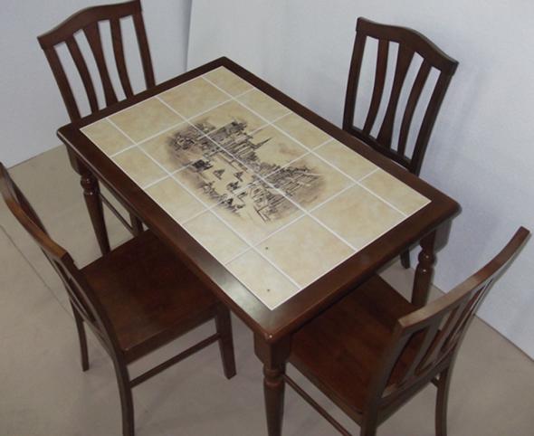 Способы обновления кухонного стола