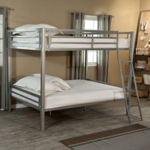 Удобные и практичные двухъярусные кровати