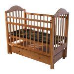 Вариант детской кровати новорожденного своими руками