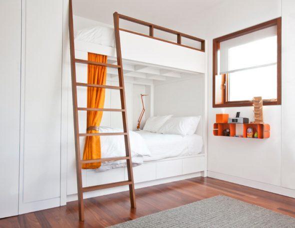 кровать минимализм