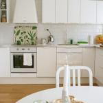 белый кухонный гарнитур светлая кухня
