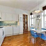 белый кухонный гарнитур дизайн
