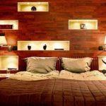 бра над кроватью современная спальня