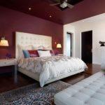 бра над кроватью в спальне дизайн
