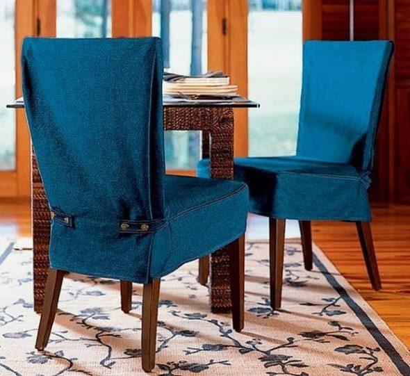 чехлы на стулья сшить