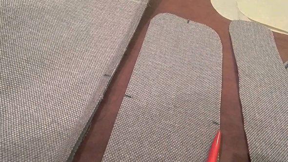 чехол на угловой диван выкройка