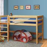 детская кровать-чердак из массива сосны