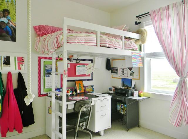 детская кровать чердак в спальне