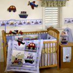 детская кроватка фиолетовая