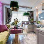 диван на кухне удобный дизайн